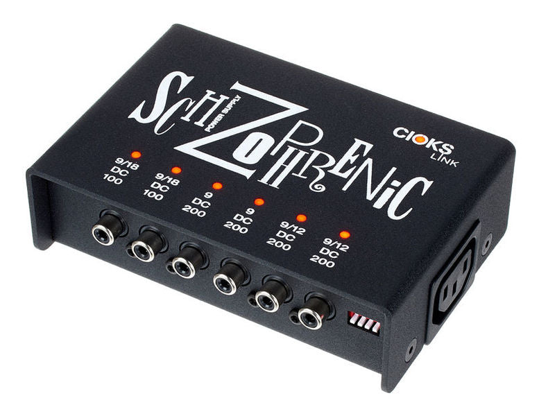 CIOKS SCHIZOPHRENIC LINK - 6 ISOLATED OUTLET / 9V / 12V 18V DC ($139 USD)