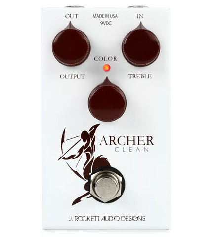 ROCKETT ARCHER CLEAN OD PEDAL ($199 USD)