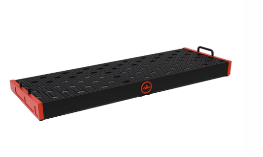 TEMPLE DUO 34 TEMPLE RED PEDALBOARD - 12.5X34 ($129 USD)