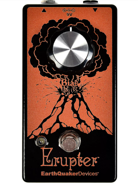 EARTHQUAKER DEVICES ERUPTER PERFECT FUZZ PEDAL ($149 USD)
