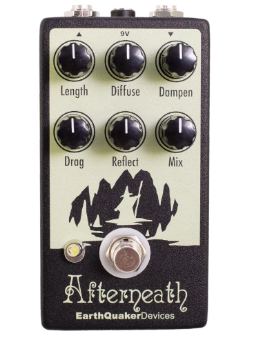 EARTHQUAKER DEVICES AFTERNEATH OTHERWORLDLY REVERB PEDAL V2 ($229 USD)