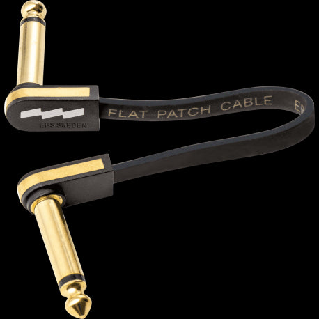 EBS PCF-PG10 Premium Gold Flat Patch Cables - 10cm/ 4""