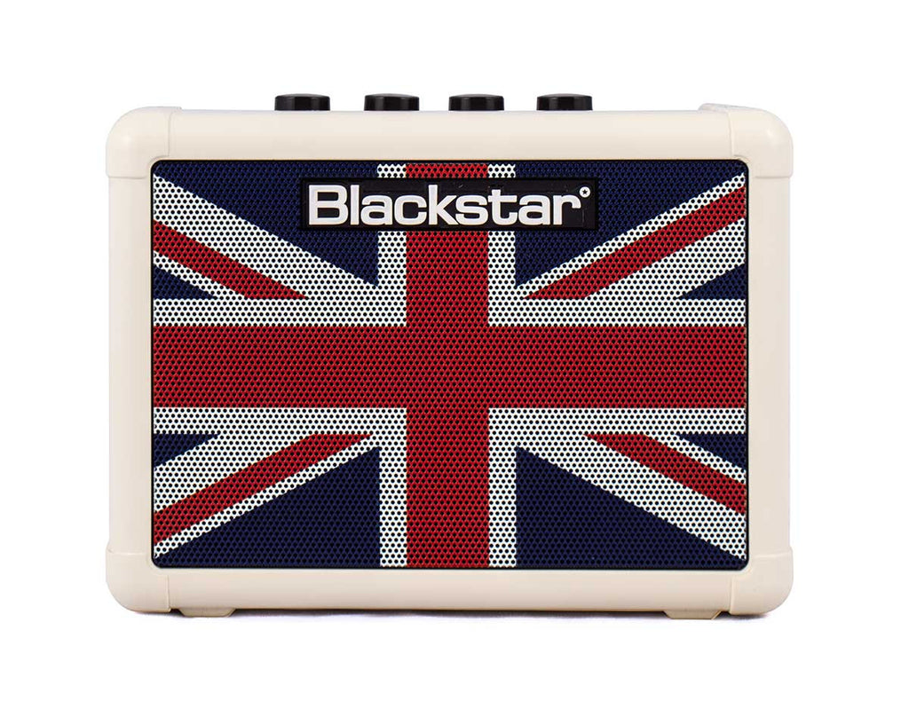 Blackstar Fly 3 Battery Powered Guitar Amp (Union Jack)