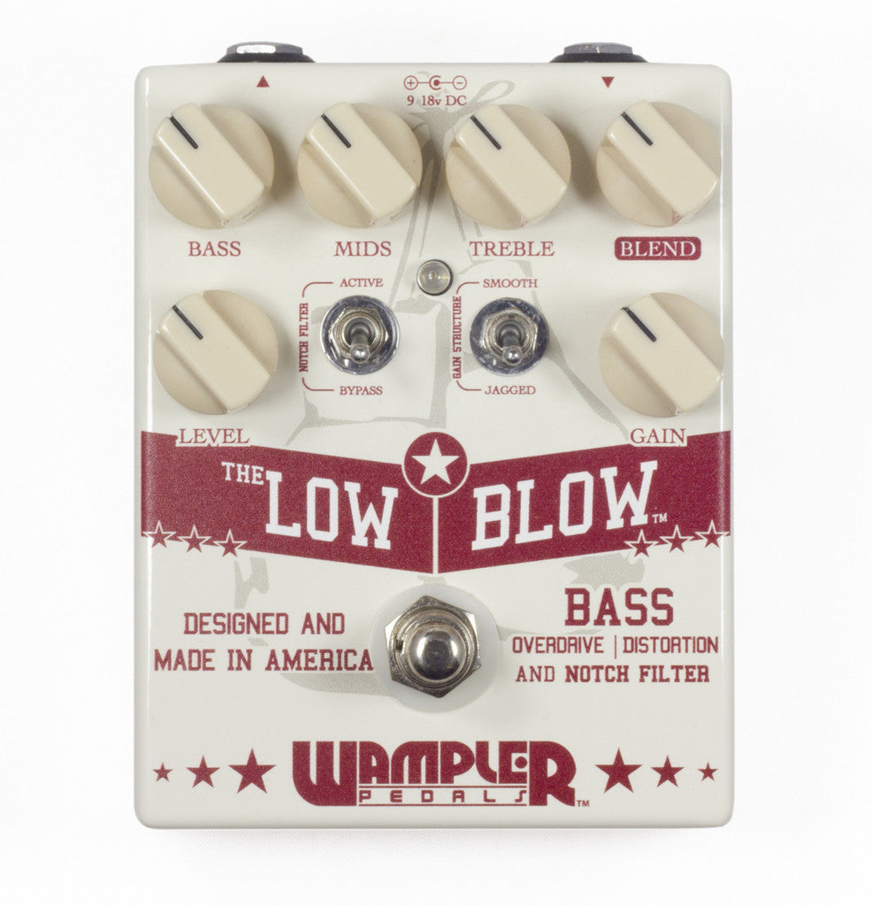 Wampler Low Blow Bass Overdrive And Distortion Pedal