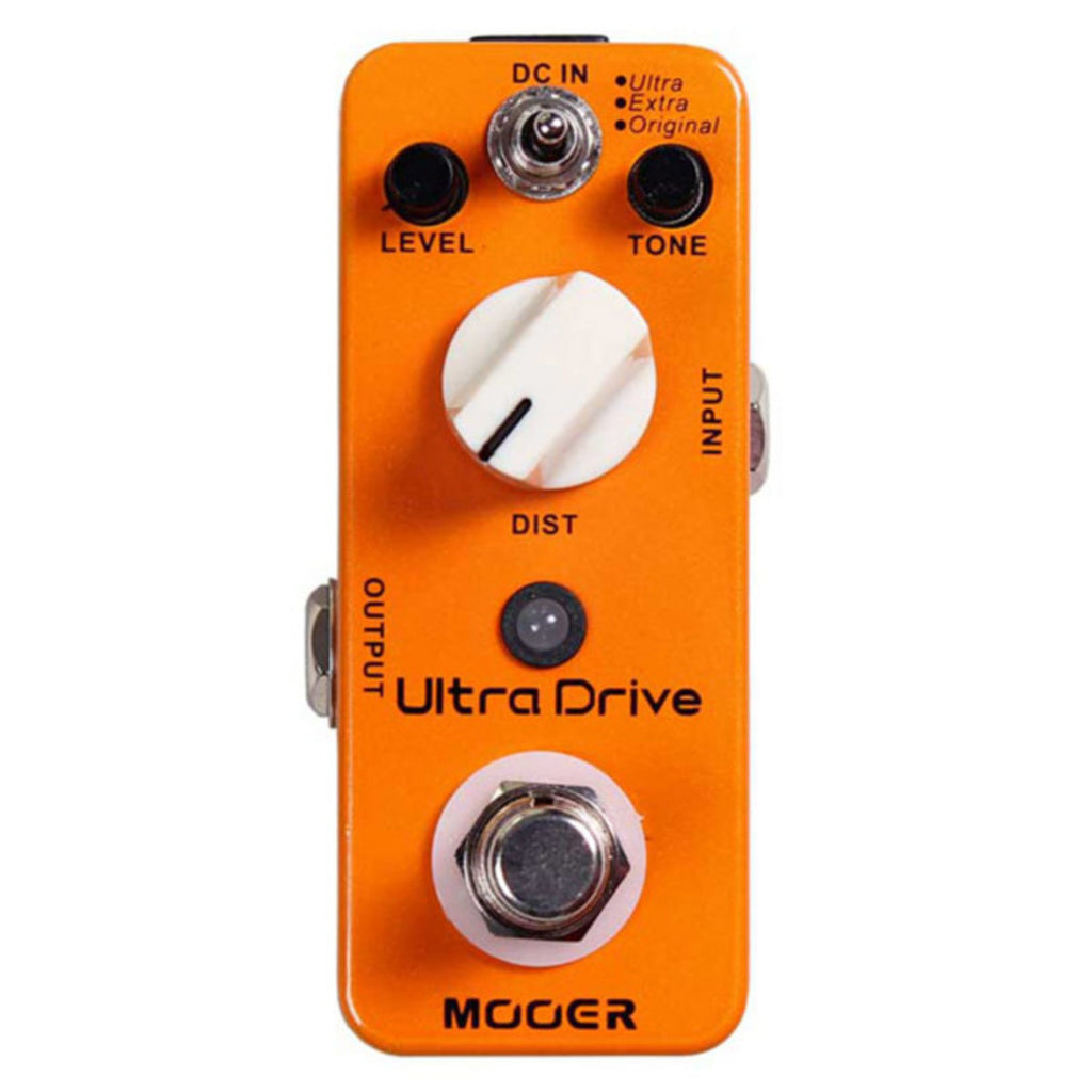 Mooer MDS4 Ultra Drive MKII Distortion