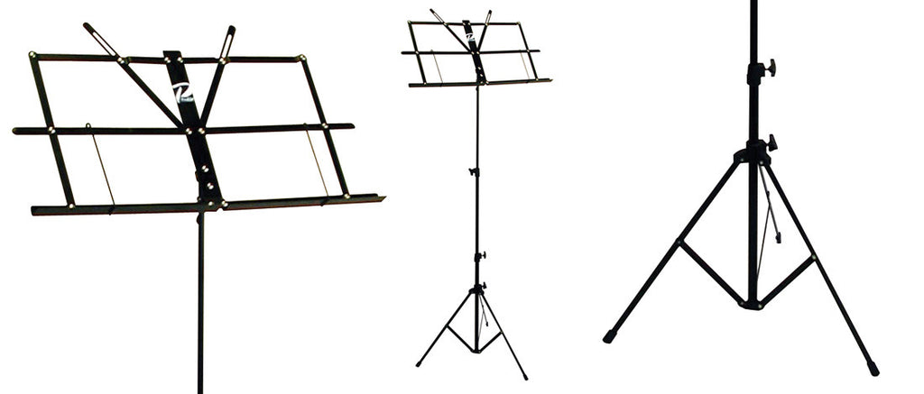 Profile MS033BP Sheet Music Stand W/ Bag - Black