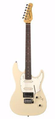 Godin Session Electric Guitar - Cream High Gloss/Rosewood