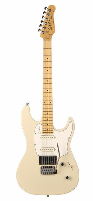 Godin Session Electric Guitar - Cream High Gloss/Maple