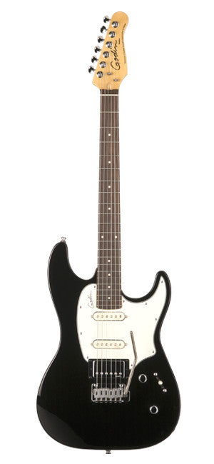 Godin Session Electric Guitar - Black High Gloss RN