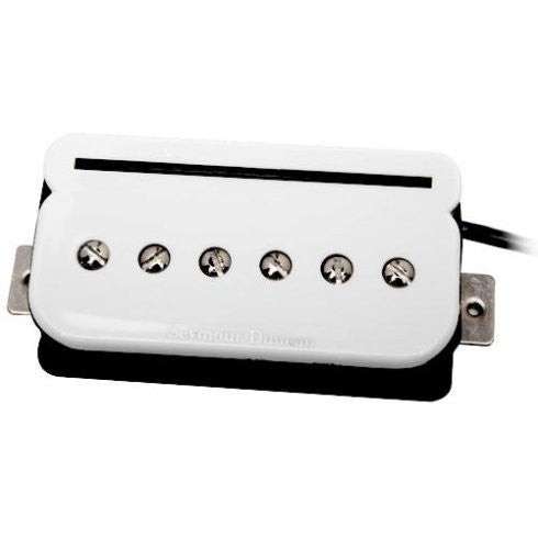 Seymour Duncan SHPR-1B Humbucker P-Rail Bridge (White)