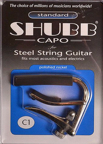 Shubb C1 Capo - Nickel