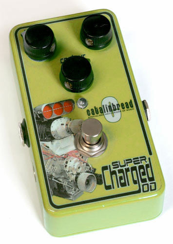 Catalinbread Super Charged Overdrive Distortion Pedal