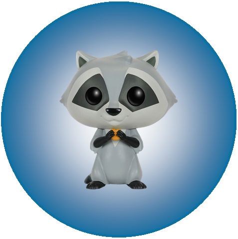 Disney - Meeko (198) - POP! Vinyl