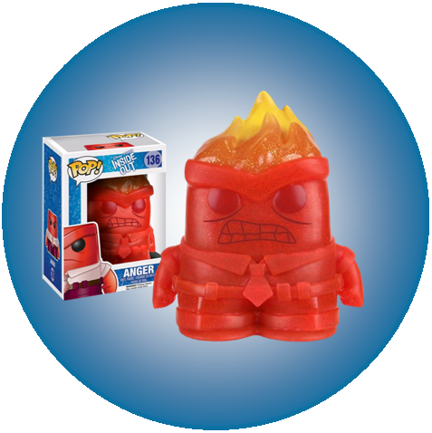 Disney PIXAR Inside Out - Anger (136) CRYSTAL