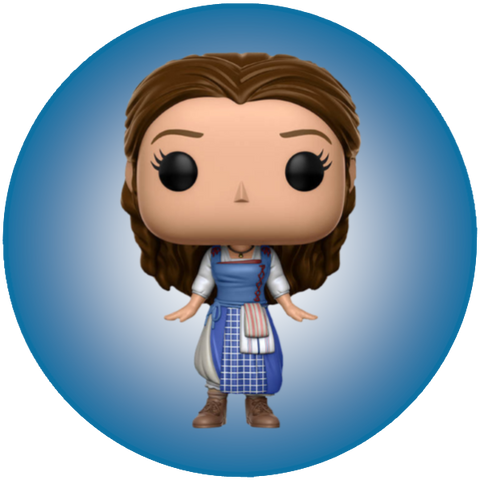 Disney Beauty and The Beast - Belle [Village] (249) NON STICKERED US EXCLUSIVE - POP! Vinyl