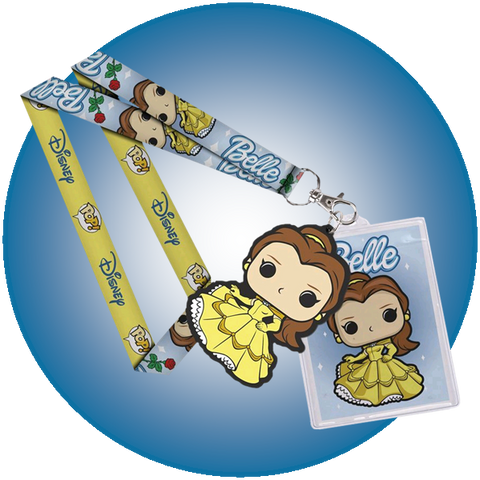 Disney - Belle - Lanyard & Tag