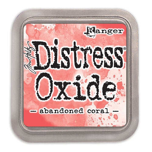 Distress Oxides abandoned coral דיו דיסטרס