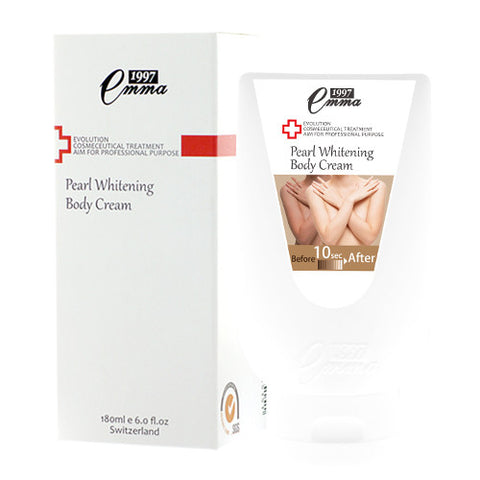 Pearl Whitening Body Cream 180 mL - Jam The Skin