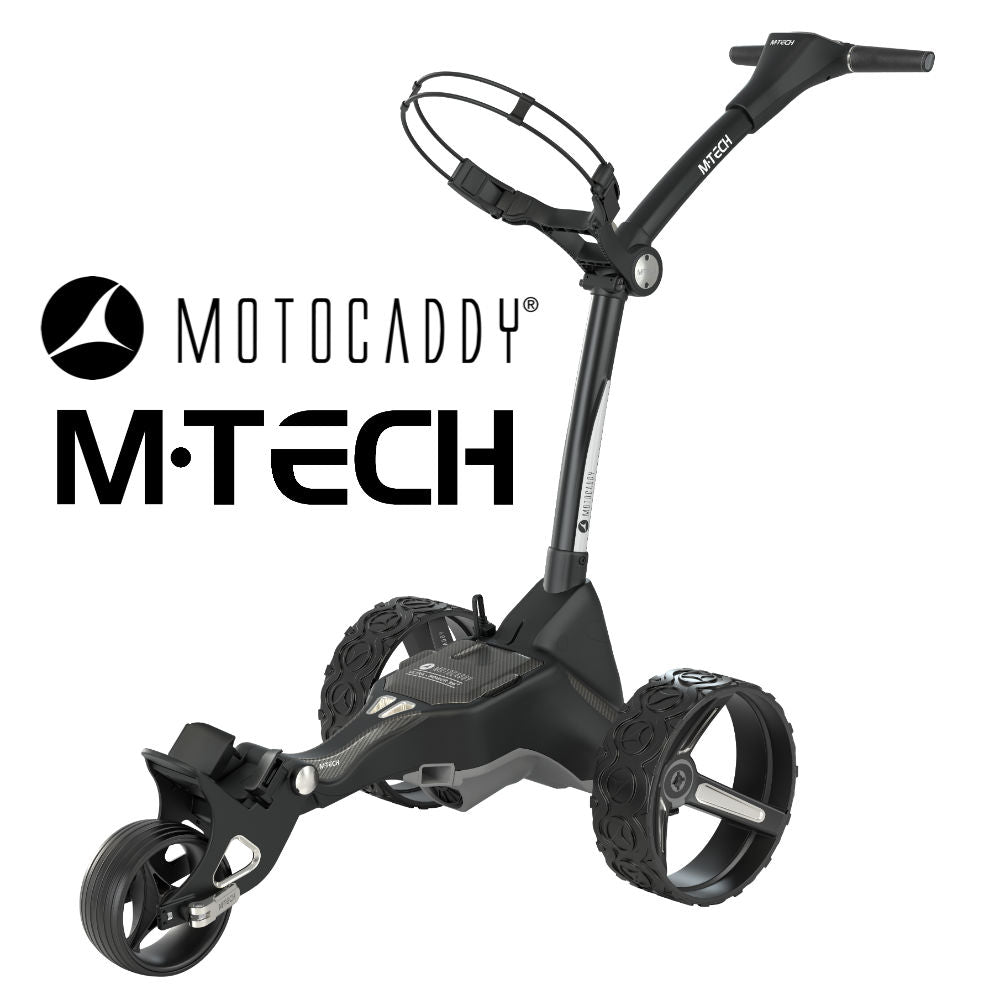 Motocaddy Launches M-Tech Luxury Compact-Folding Electric Trundler