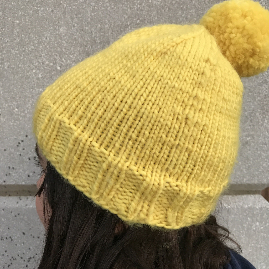 Tricot d'une tuque au magic loop