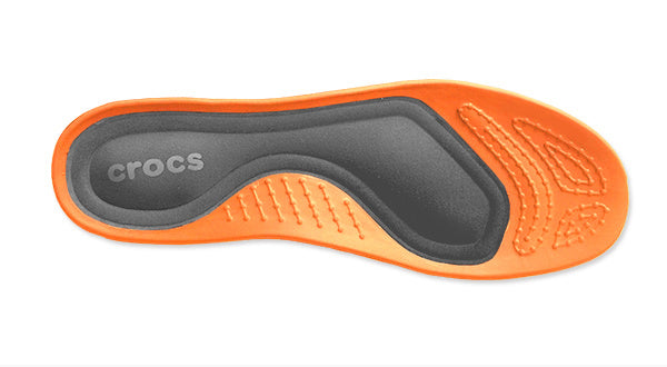 Crocs Croslite with Memory Foam TechnologyFootbed