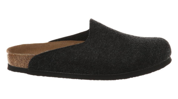 Birkenstock Amsterdam Felt Anthracite - Sole Central