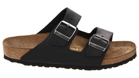72381f0f6293 Birkenstock Arizona Black Oiled Leather