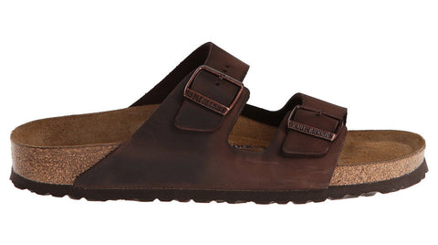Birkenstock Arizona Habana Waxy Leather Soft Footbed