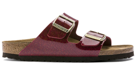 Birkenstock Arizona Magic Snake Bordeaux