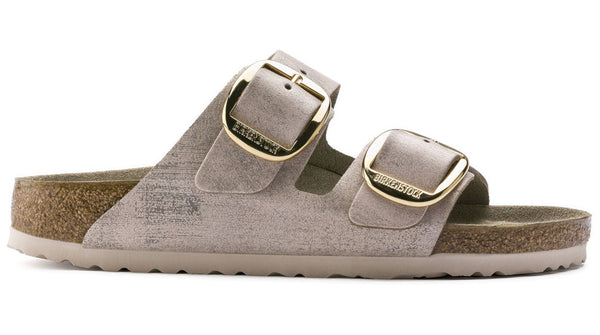 Birkenstock Arizona Big Buckle Washed Metallic Rose Gold