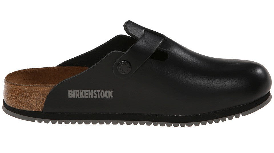 b6c8a9b9a34 Birkenstock Boston Black Super Grip - Sole Central