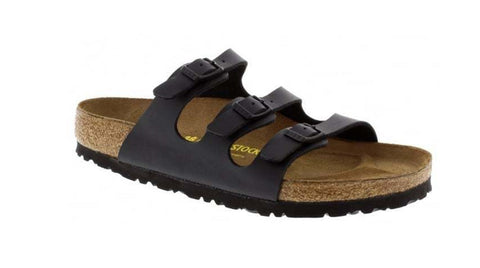Birkenstock Florida Black - Sole Central