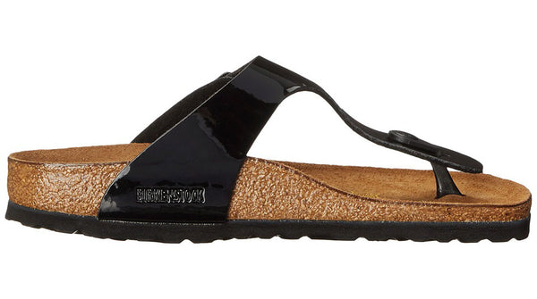 Birkenstock Gizeh Black Patent - Sole Central