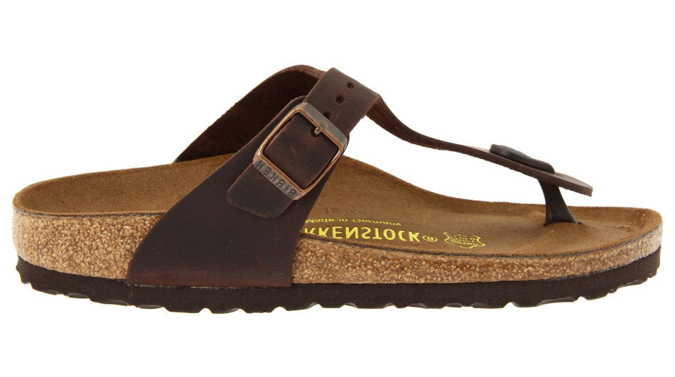 a3ad6488634 Details about Birkenstock Gizeh Habana Oiled Leather