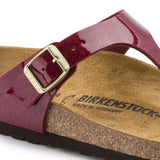 Birkenstock Gizeh Magic Snake Bordeaux