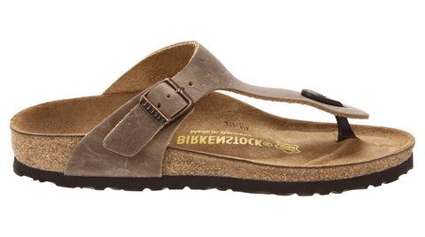 Birkenstock Gizeh Tobacco Brown Oiled Leather