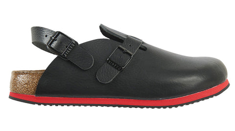 Birkenstock Kay Black Super Grip Soft Footbed