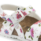 Birkenstock Kids Isabella China Flowers White