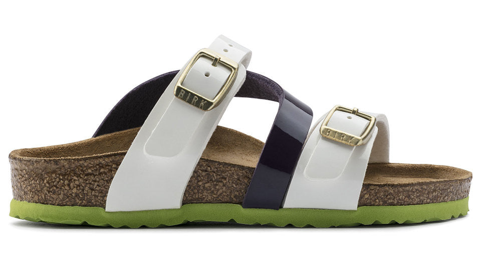 Details about Birkenstock Kids Salina Tropical White Lilac