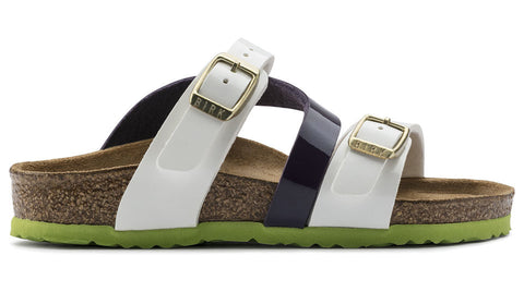 Birkenstock Kids Salina Tropical White Lilac