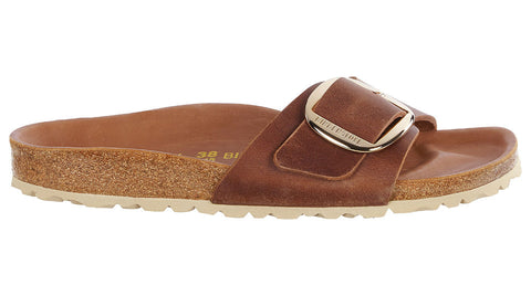 Birkenstock Madrid Leather Big Buckle Congnac