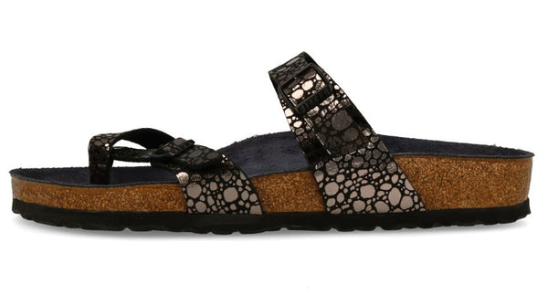 83cbc128ebd Birkenstock Mayari Metallic Stones Black – Sole Central