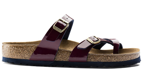 Birkenstock Mayari Two Tone Wine Flame
