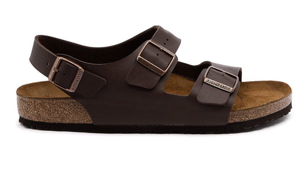 Birkenstock Milano Brown - Sole Central