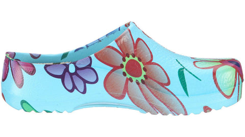 Birkenstock Super Birki Flowers Blue