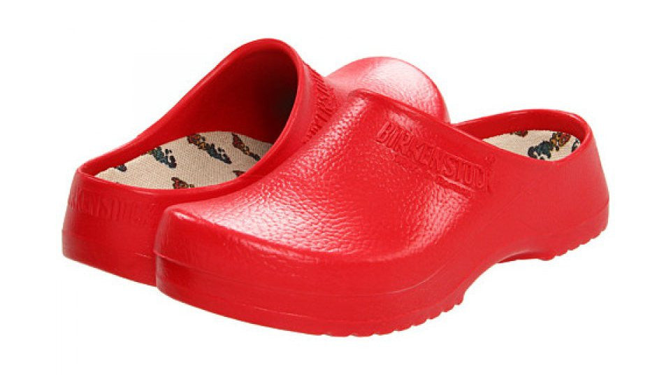 birkenstock super birki red pair 84508