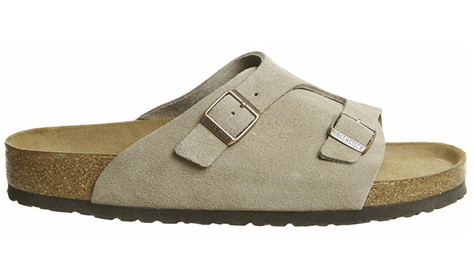 c4104f67ae0a4 Birkenstock Zurich Taupe Soft Footbed