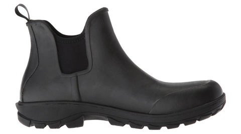 Bogs Men's Sauvie Slip On Work Boot Black