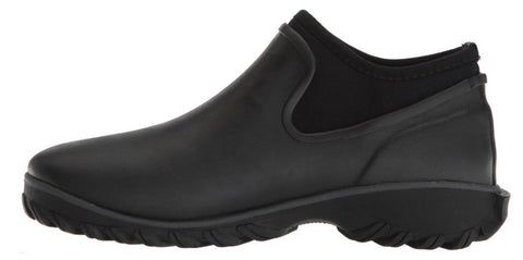 Bogs Women's Sauvie  Chelsea Slip On Boot Black