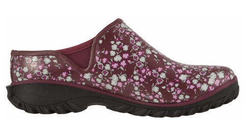 Bogs Women's Sauvie Clog Ditsy Violet